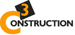 C3 Construction Retina Logo